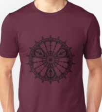 Skull Mandala Pattern T-Shirt
