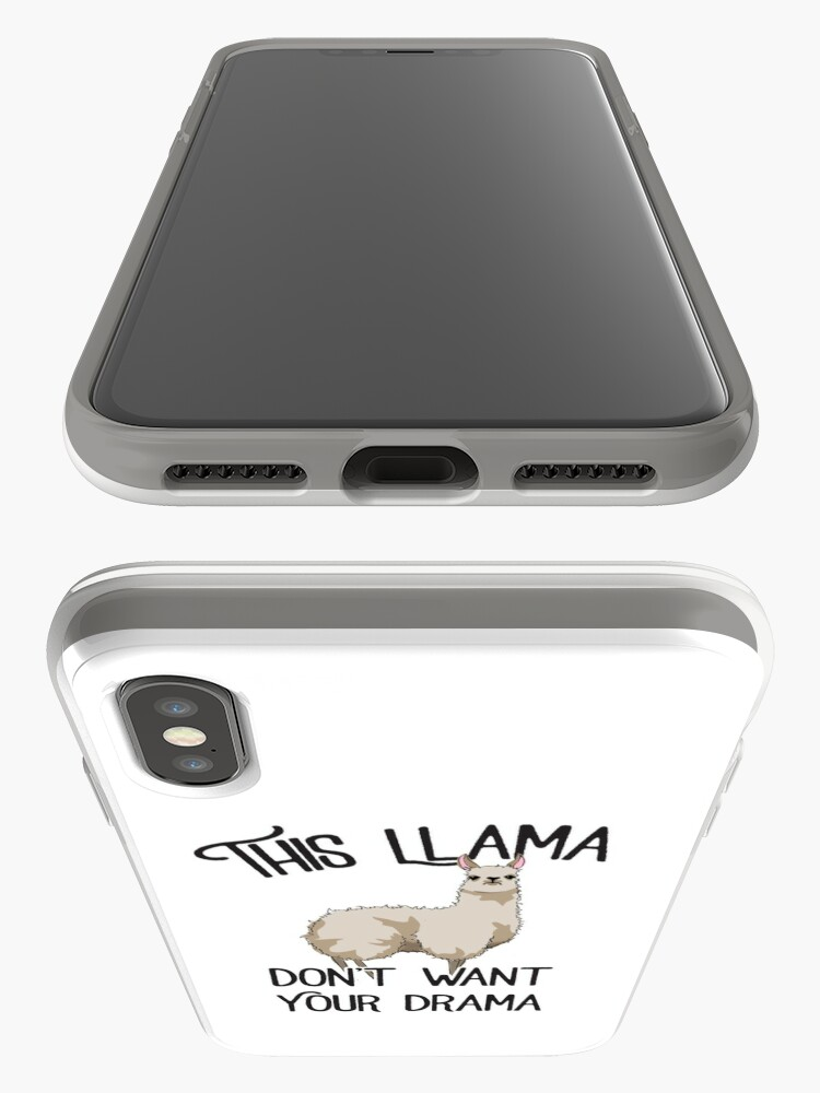 Alternate view of This Llama iPhone Case & Cover