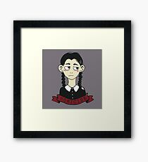 Wednesday Addams Homicide  Framed Print