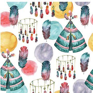 Tribal Pattern by RenJean