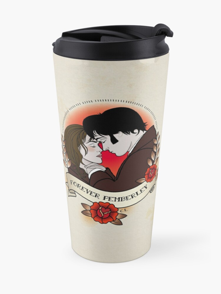 Alternate view of Pride and Prejudice Travel Mug