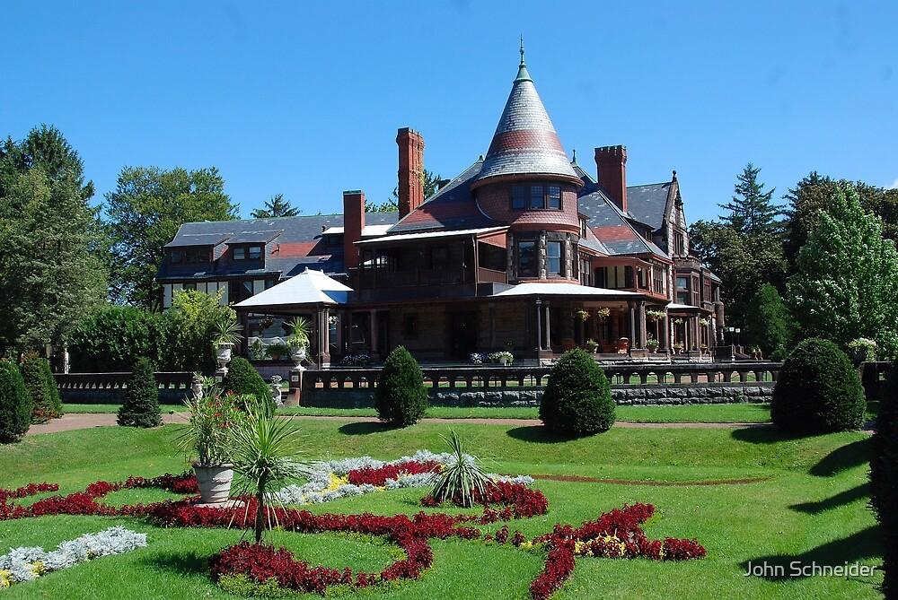 Sonnenberg Mansion by John Schneider
