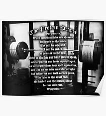 The Protein Prayer Poster