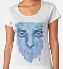 Blue thoughts Women's Premium T-Shirt
