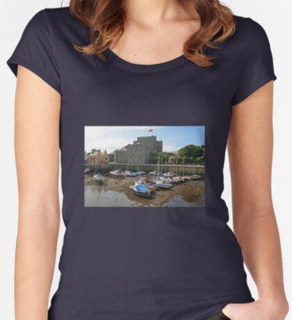 Castle Rushen Women's Fitted Scoop T-Shirt