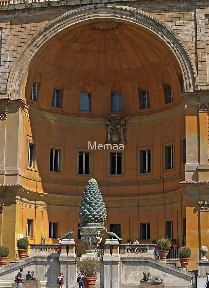 Vatican Arch Entrance 2 by Memaa
