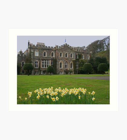 Hartland Abbey Art Print