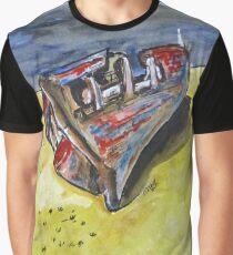 Junk Fishing Boat Graphic T-Shirt