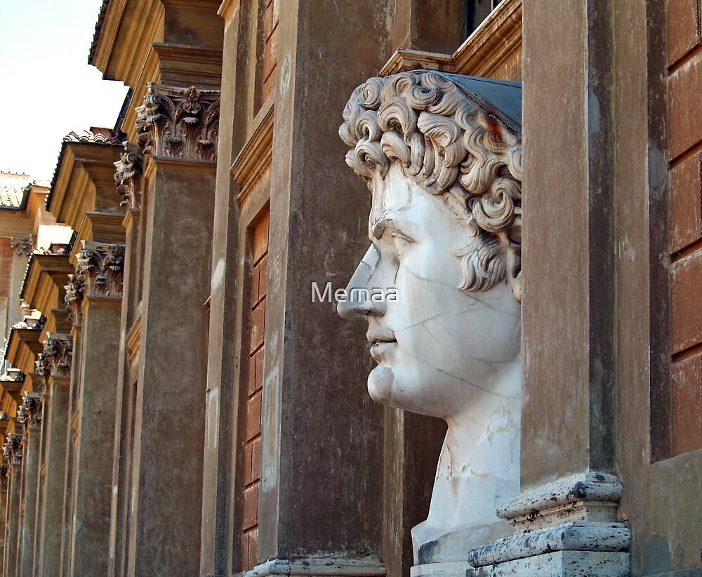 Vatican Bust of Caesar Profile by Memaa
