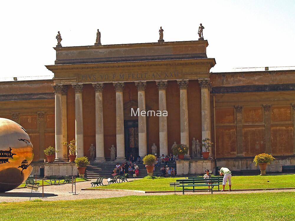 Vatican Museum by Memaa