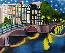 Amsterdam by Night by melasdesign