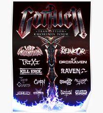 """Gothic II - """"Tranception"""" Khorinis Tour Poster Poster"""