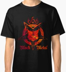 CATAN - Satanic Cat 666 - Fire Edition Classic T-Shirt