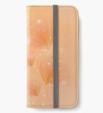 Blossom with bokeh effect iPhone Wallet/Case/Skin