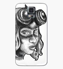 Goggle Girl. Case/Skin for Samsung Galaxy