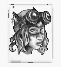 Goggle Girl. iPad Case/Skin
