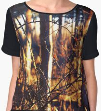 Chaos and Subtlety in Nature... Chiffon Top