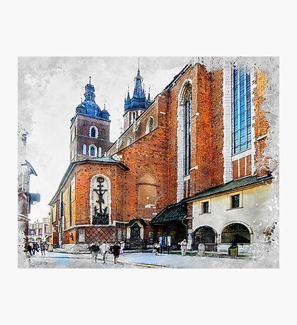 Cracow art 1 #cracow #krakow #city Photographic Print