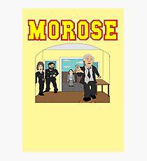 Inspector Morose Photographic Print