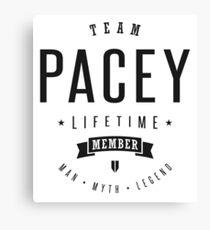 Team Pacey Canvas Print
