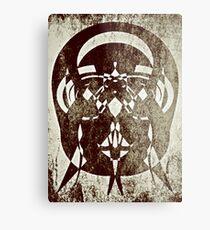 Abstract Sepia  Metal Print