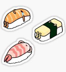 Sushi-Bett - 3er Pack Sticker