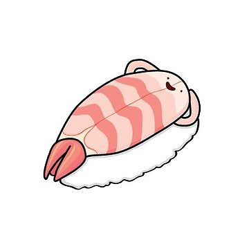 Sushi Bed (Shrimp) by gianinaann