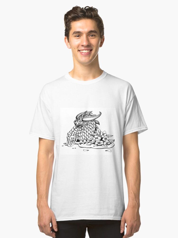 Dragon Helm Classic T-Shirt Front