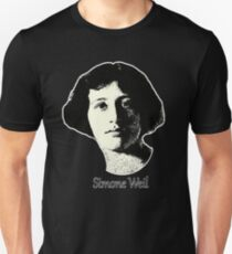 The great Simone Weil ~ 1921 design T-Shirt