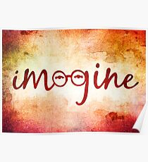 Imagine - John Lennon Tribute Artwork Poster