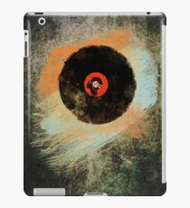 Vinyl Record Retro T-Shirt - Vinyl Records New Grunge Design iPad Case/Skin