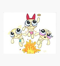 Power Puff Golls Photographic Print
