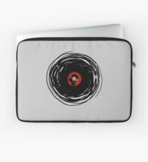 I'm spinning within with a vinyl record... GRUNGE TEXTURE Laptop Sleeve