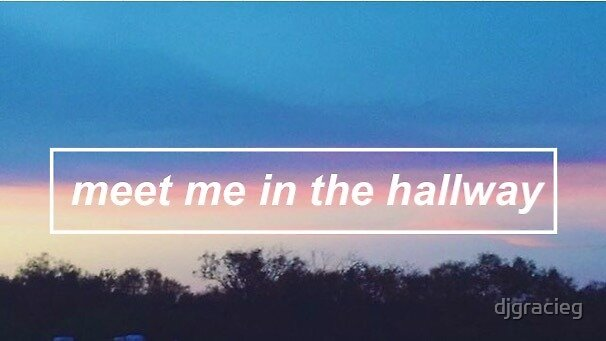 Harry Styles Meet Me In The Hallway Aesthetic By