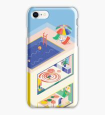 ISOMETRIC BUILDING iPhone Case/Skin