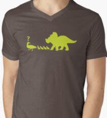 Ugly duckling? (lime) Men's V-Neck T-Shirt