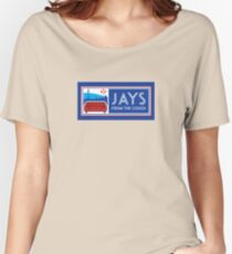 Jays From the Couch Merchandise Women's Relaxed Fit T-Shirt