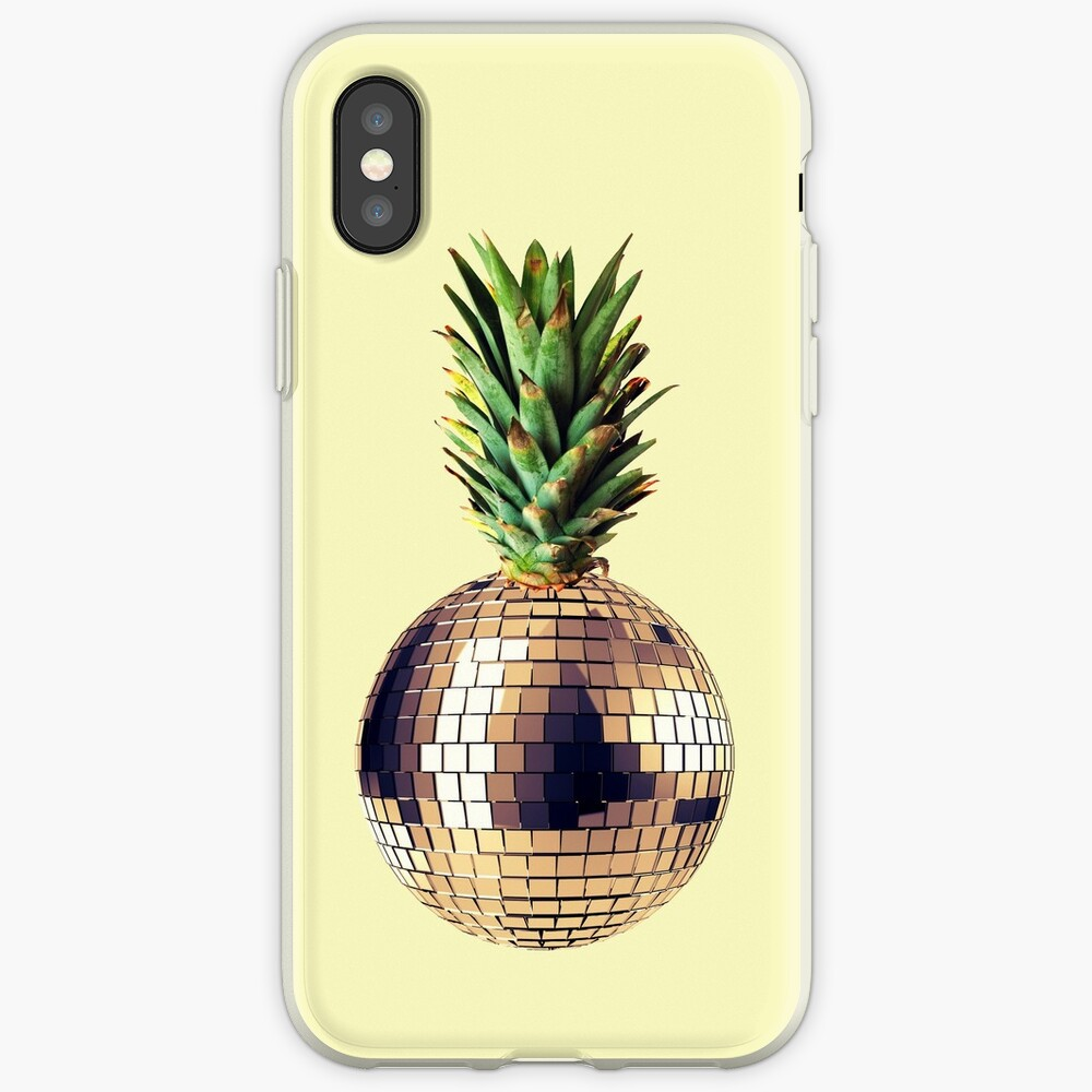 Ananas Party (Ananas) iPhone-Hülle & Cover