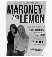 Maroney and Lemon Poster