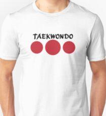 Taekwondo (rot) Slim Fit T-Shirt