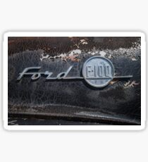 Ford F-100 Sticker