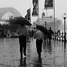 Lunch Break in the Rain by Elizabeth Duncan