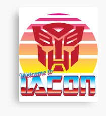 Transformers: Welcome to Iacon Canvas Print