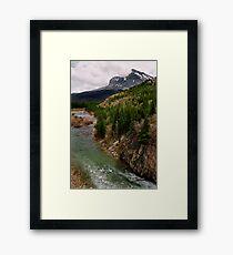 Glacier NP Stream 2 Framed Print