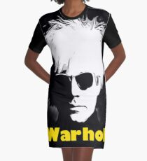 Andy Warhol Graphic T-Shirt Dress