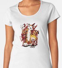 Calvin and Hobbes Women's Premium T-Shirt