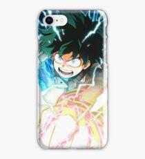 Full Cowl Deku - My hero Academia iPhone Case/Skin