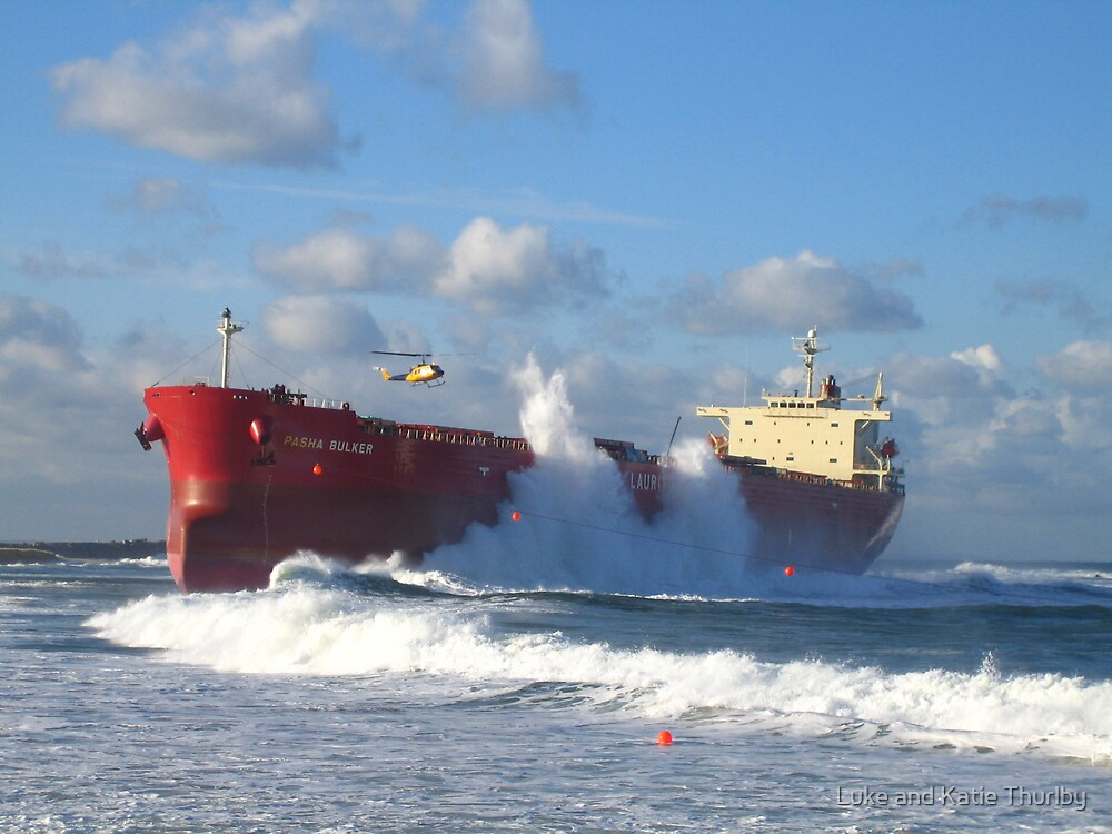 Pasha Bulker by Luke and Katie Thurlby