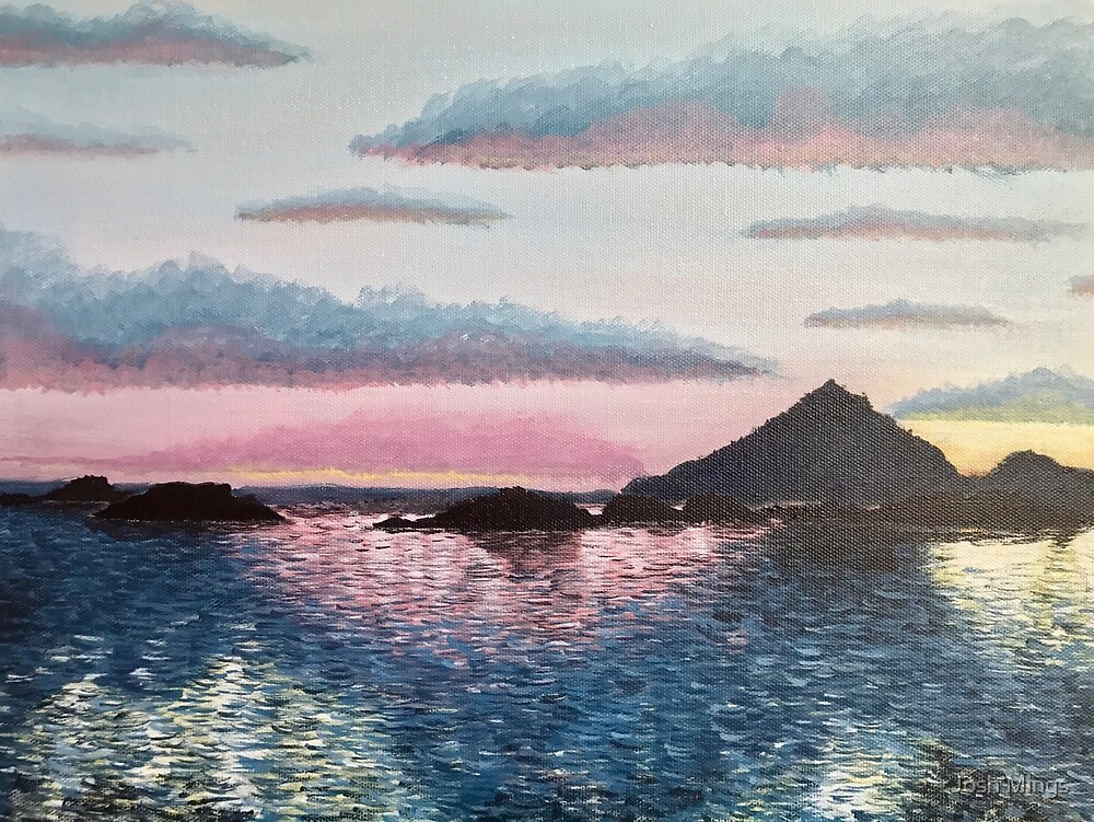 Evening on the Leinesfjord by Josh Mings
