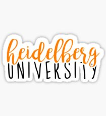 Heidelberg University Sticker